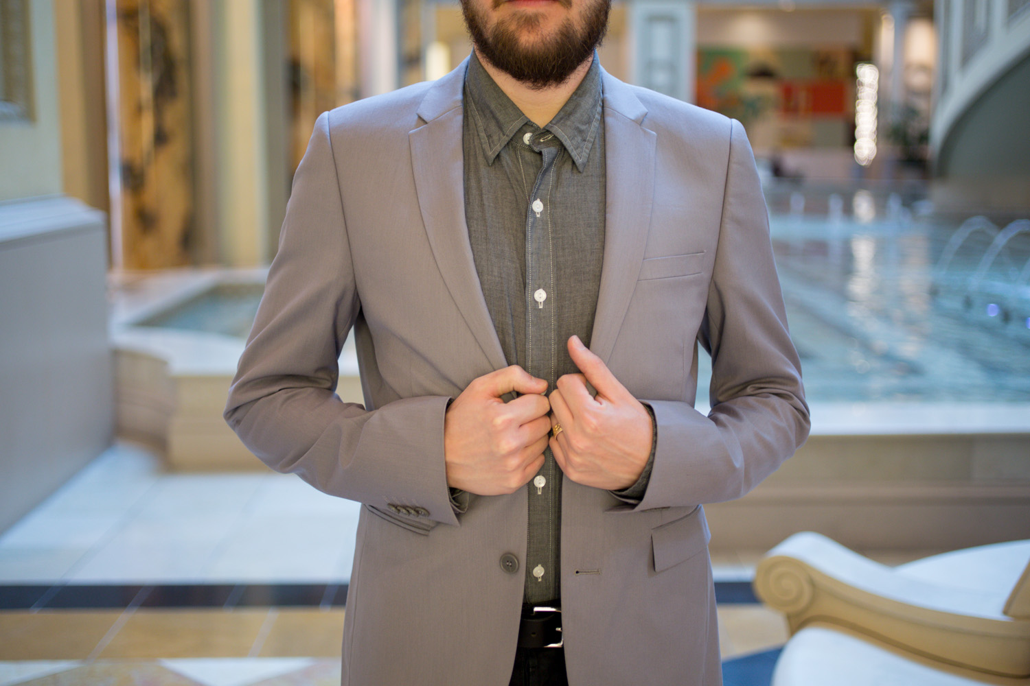 Menswear Uniqlo Cotton Blazer