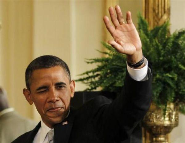 Obama estranho