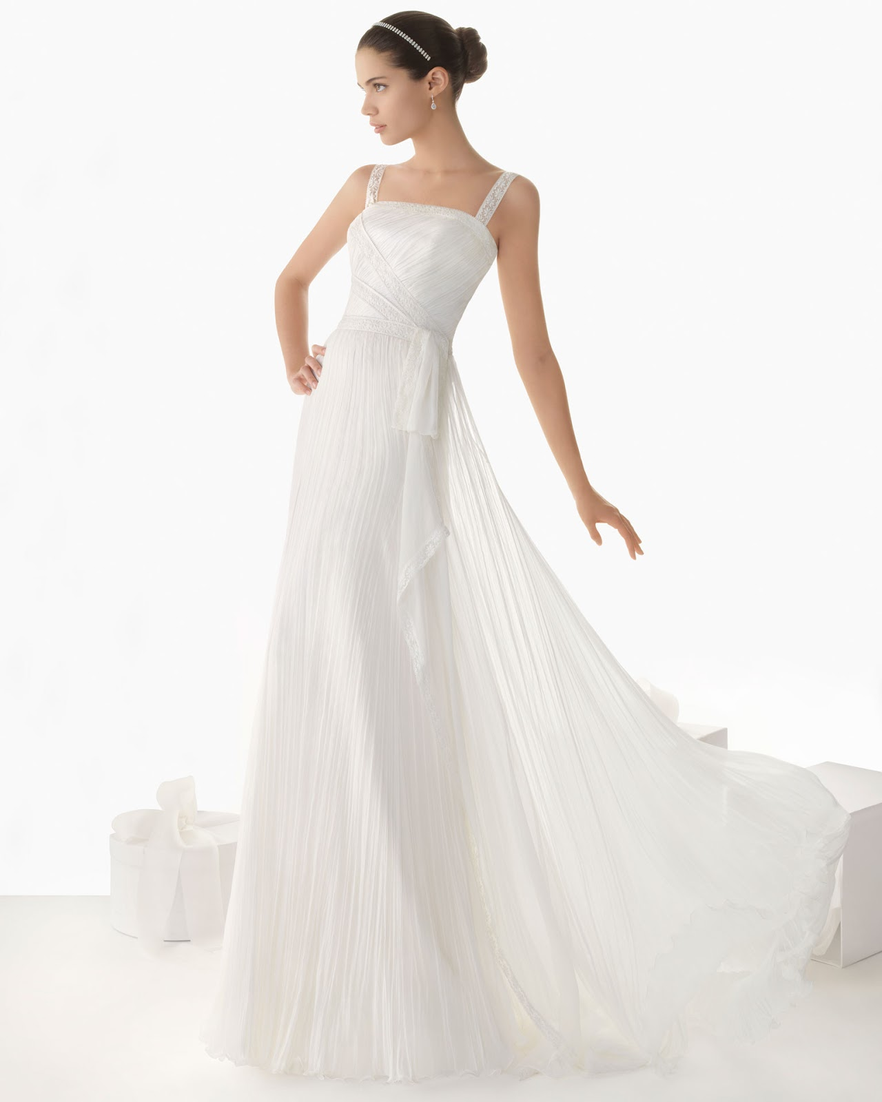 lace wedding dress 2013 spring from Rosa Clara