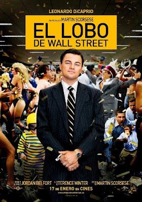 El lobo de Wall Street de Martin Scorsese