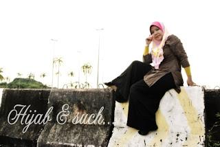 hijab and such, awning sara, awning, tudung awning