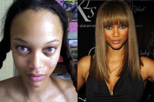 Ainda bem que existe a maquiagem, veja estas famosas antes e depois