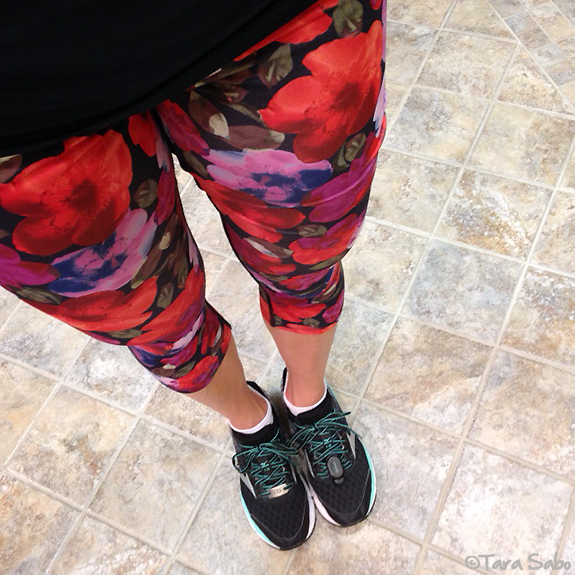 flower pants, everymilecounts, runner, rungear