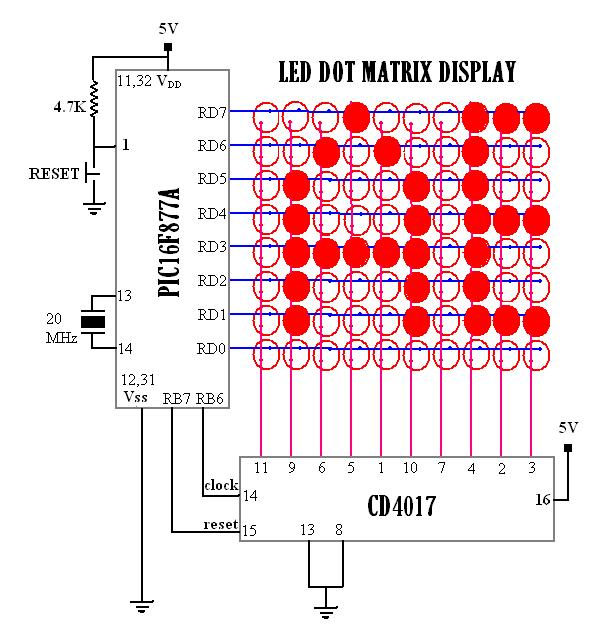 display wiring diagram schematic wiring diagrams u2022 rh arcomics co LED Lamp Wiring Diagram 120V LED Wiring Diagram