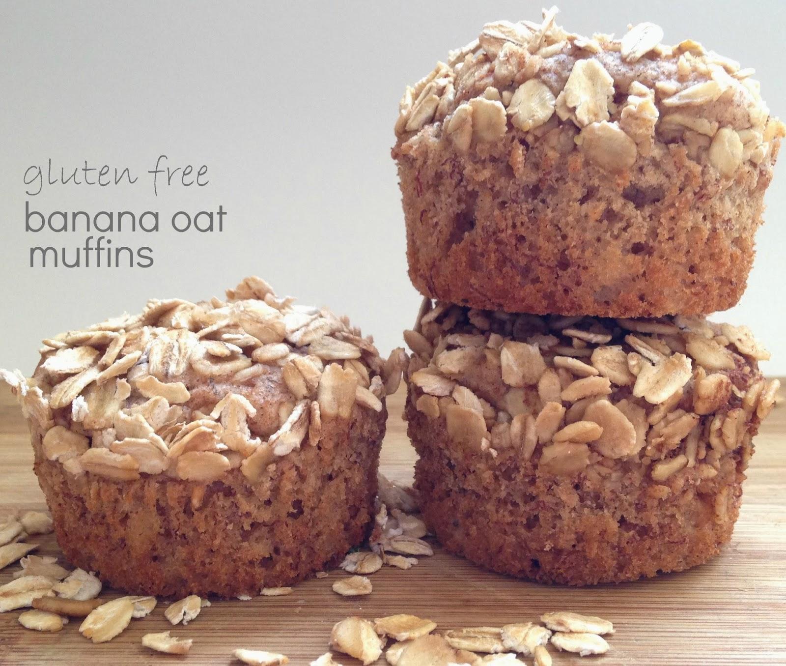 Baby Boy Bakery .: Gluten Free Banana Oat Muffins