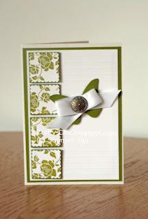 Stampin up, wedding invitation
