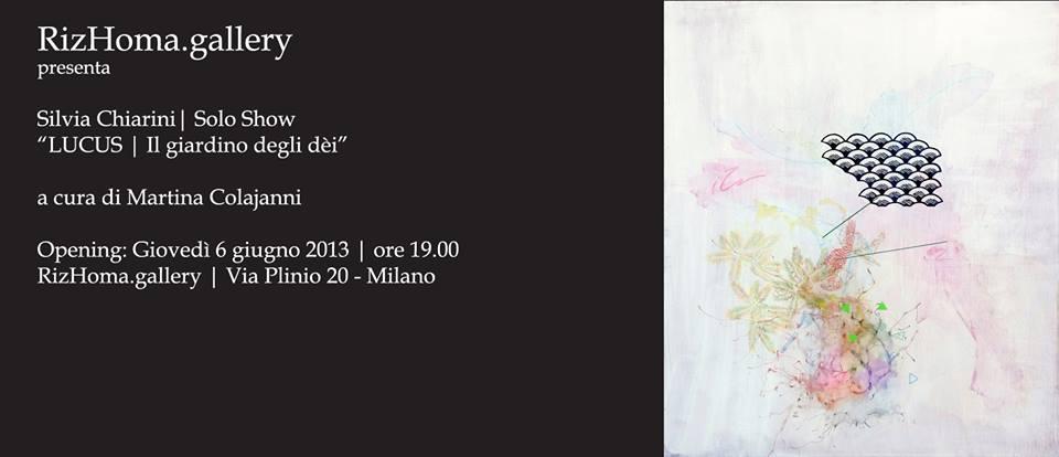 La stanza privata dell 39 arte by roberto milani solo show - Il giardino degli dei ...