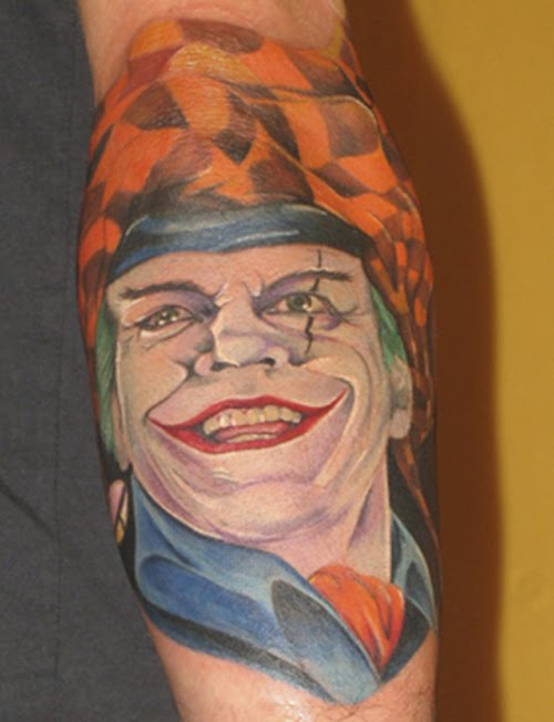 Tattoo designs joker tattoo meanings pictures and for The joker tattoo