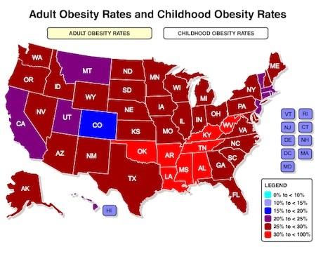 estadisticas sobre obesidad: