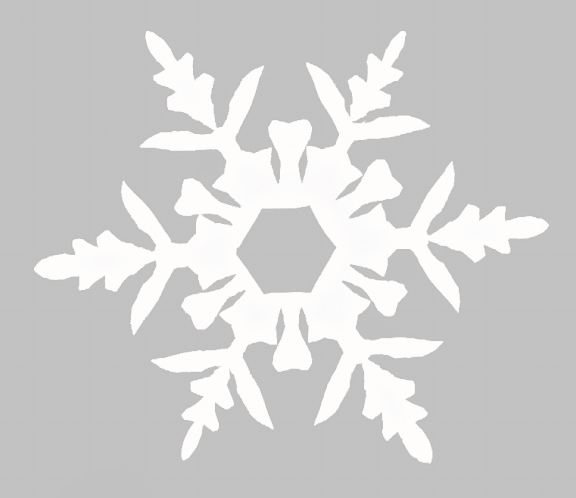 Snowflake Cutting Template Snowflake templates