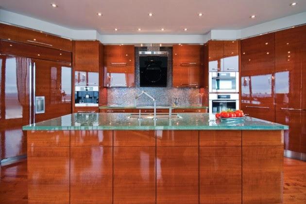 Hogares Frescos: 19 Adorables Ideas de Diseño de Cocinas con Muebles ...