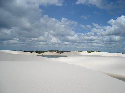 White Desert of Brazil