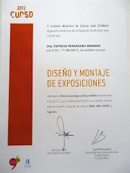 Curso de diseño y montaje de exposiciones