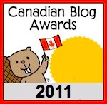 Canadian Blog Awards - Nomination