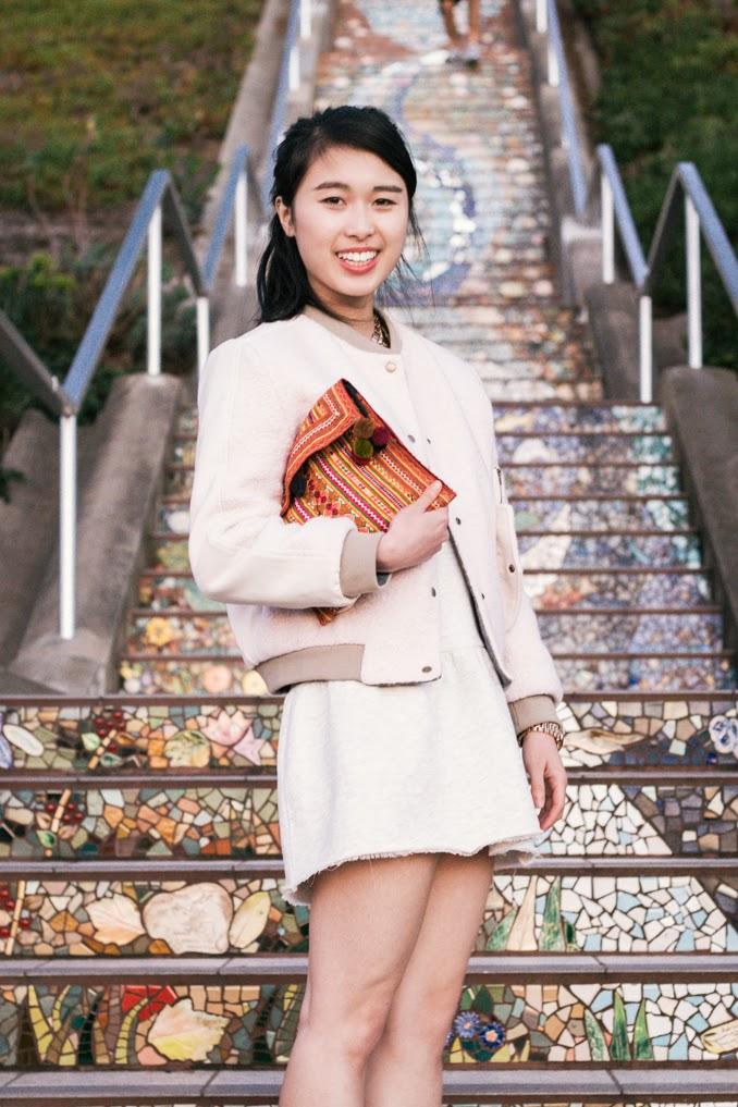 athletic chic style, baseball jacket style, readytwowear, fashion blog, san francisco fashion