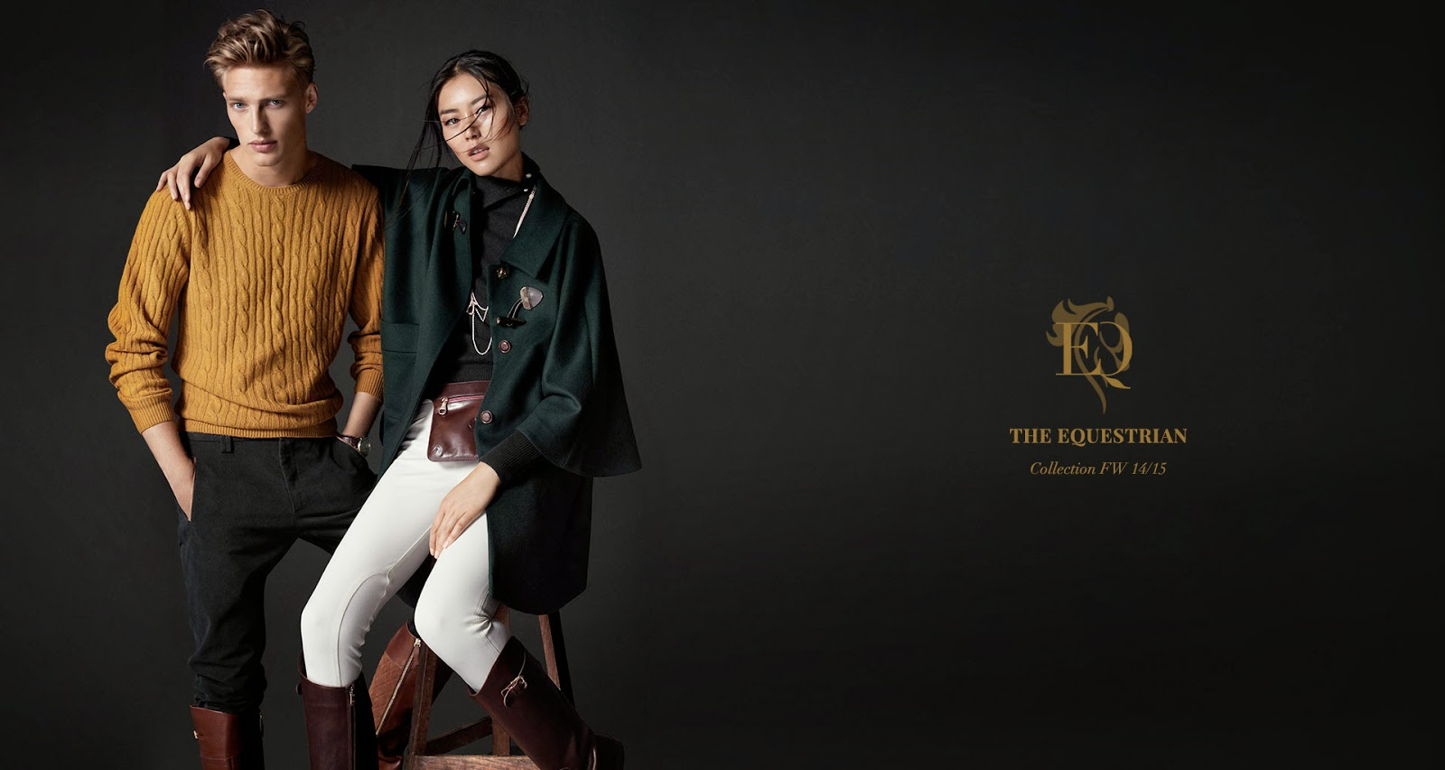 Massimo Dutti AW14 Equestrian Collection foto