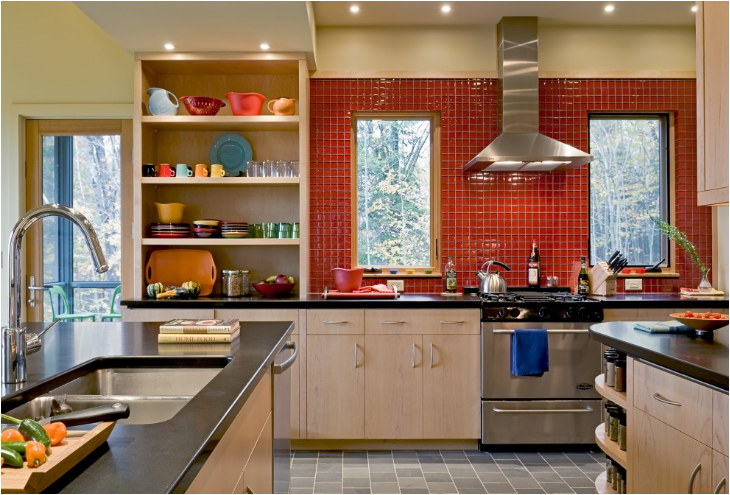 lot! Did you know there were so many kitchens done in the color orange