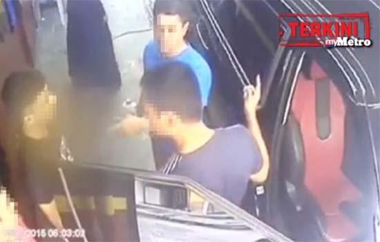 Lelaki tampar pekerja bangla di car wash ditahan