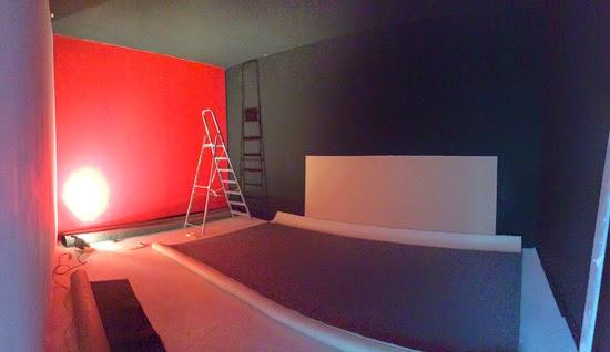 construction salle de r p tition rock pose de la moquette au sol. Black Bedroom Furniture Sets. Home Design Ideas