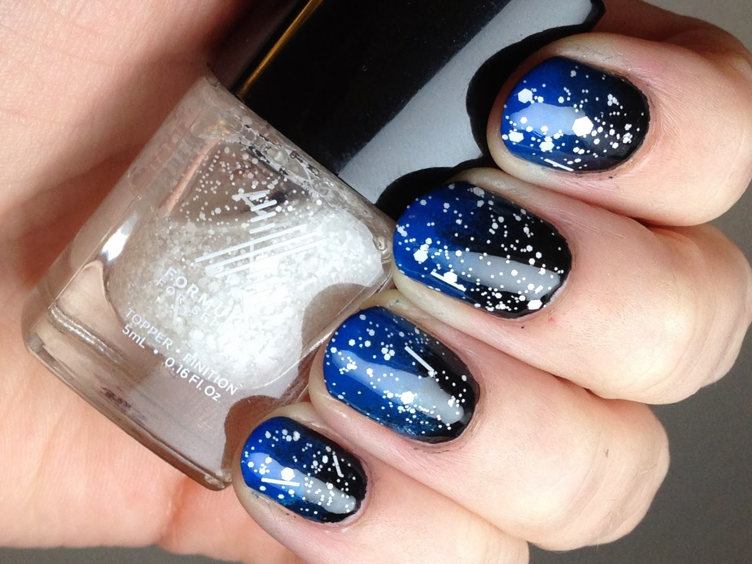 Piano Finger(nail)s: Snowy Night Sky