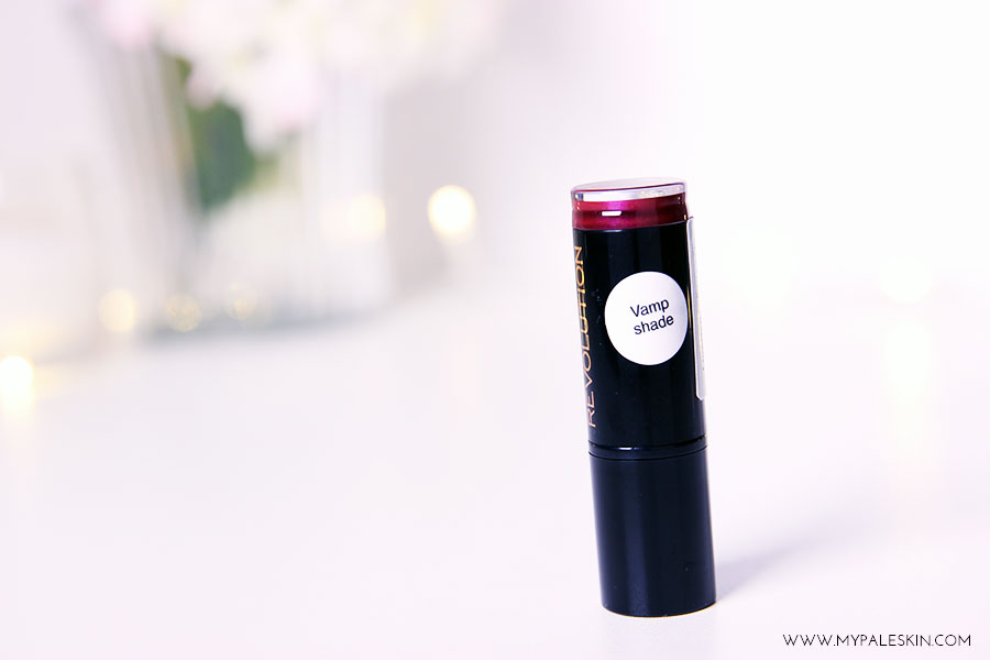 make up revolution, berry lips, rebel with a cause, pale skin, my pale skin, em ford, blonde hair, lipstick,  make up, beauty, blogger, review, swatch