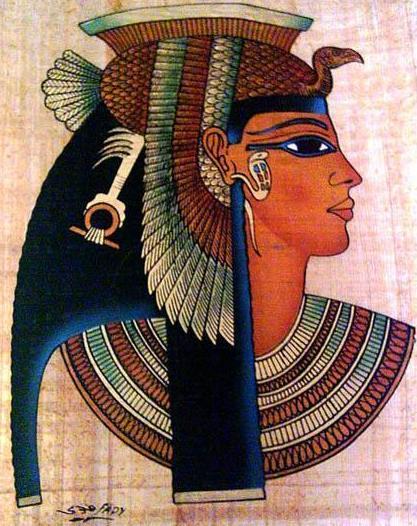Dibujo de Cleopatra