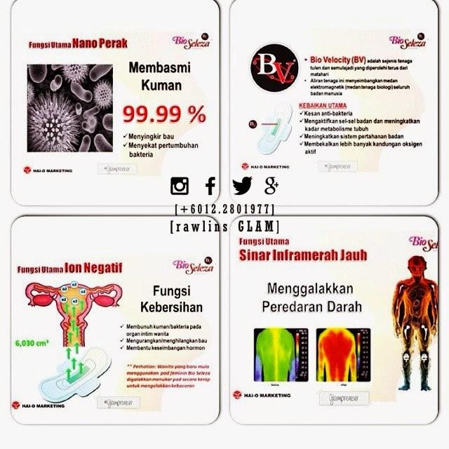 Bio Seleza, Tuala Wanita, Cervical Cancer, Sanitary Pad, Kanser Pangkal Rahim, Testimoni, pantyliner, haid