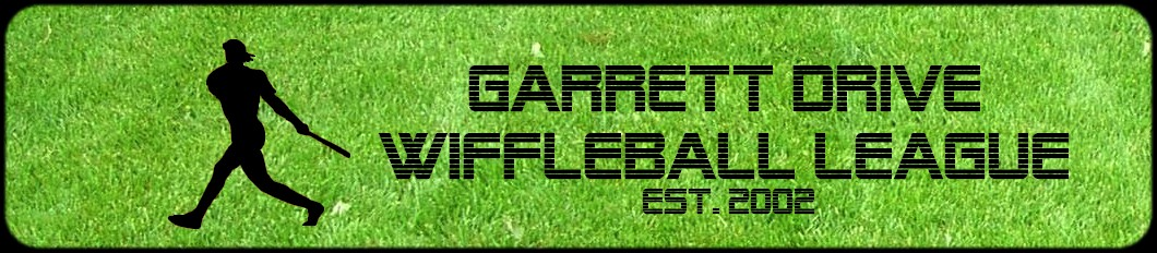 Garrett Drive Wiffleball League