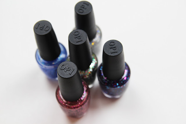 Top 5 OPI glitter polishes