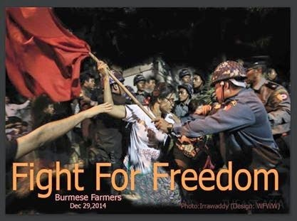 Fight for Burmese Farmers