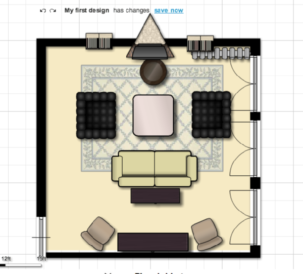Foundation dezin decor living room plan layout and tips for Living room floor plan