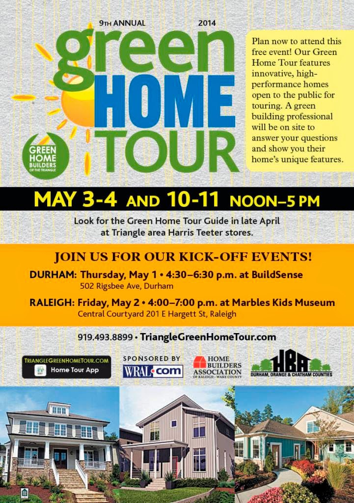 9th Annual Green Home Tour Starts Saturday, May 3rd