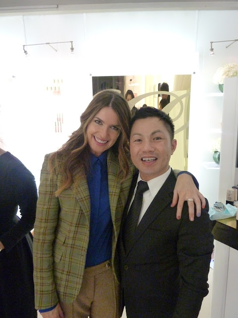 Estee Lauder Global Makeup Artist, Alan Pan