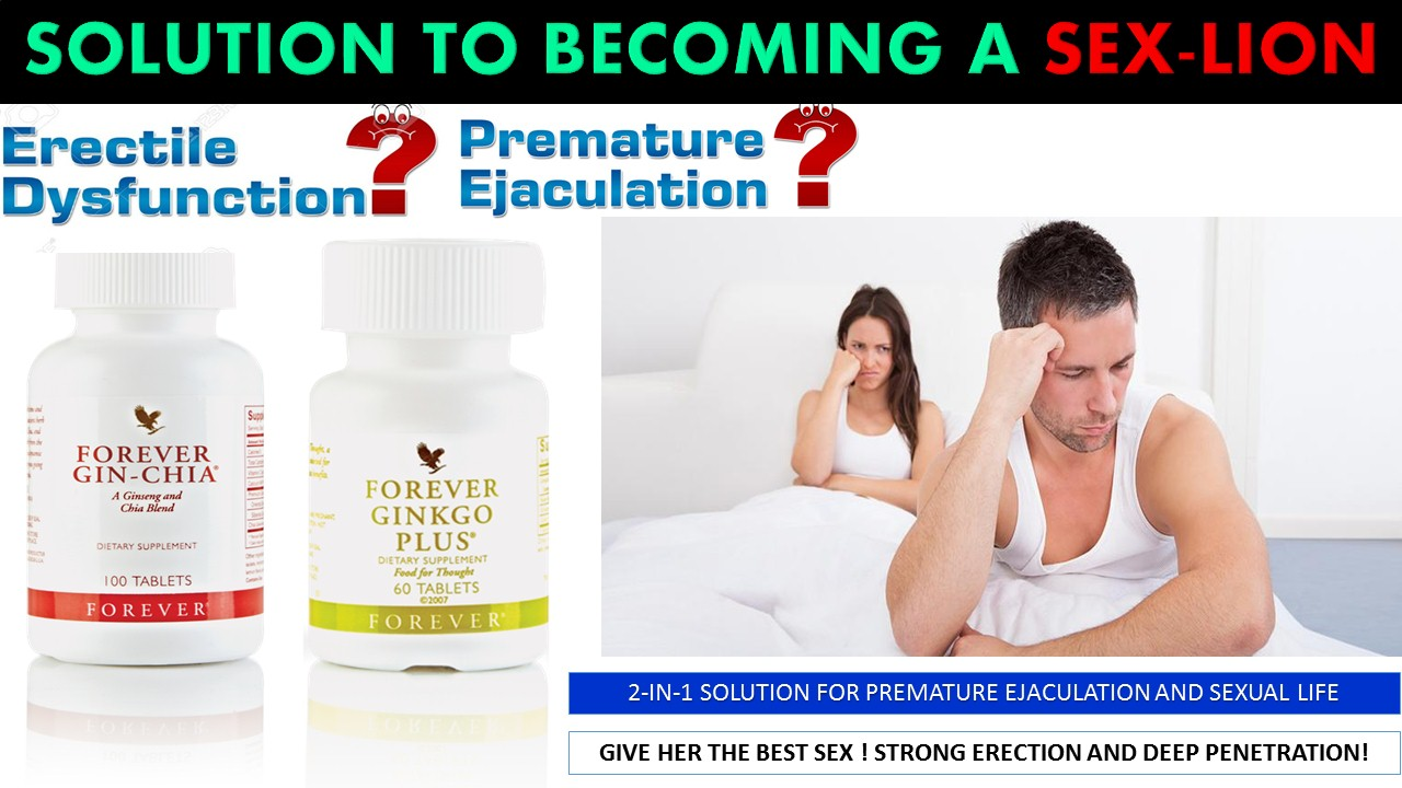 2-IN-1 SOLUTION FOR PREMATURE EJACULATION AND SEXUAL LIFE