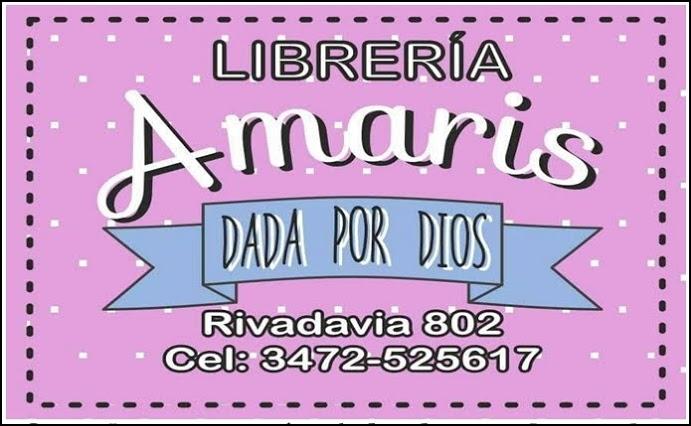 """ESPACIO PUBLICITARIO: LIBRERÍA """"AMARIS"""""""