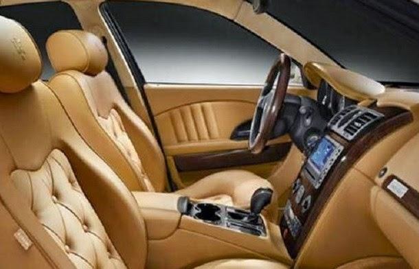 2016 Maserati Levante Interior