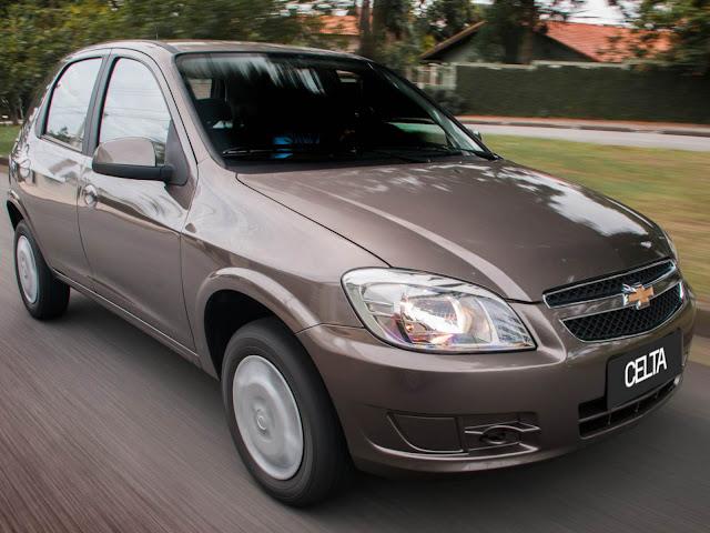 Chevrolet Celta 2015 - fim de linha
