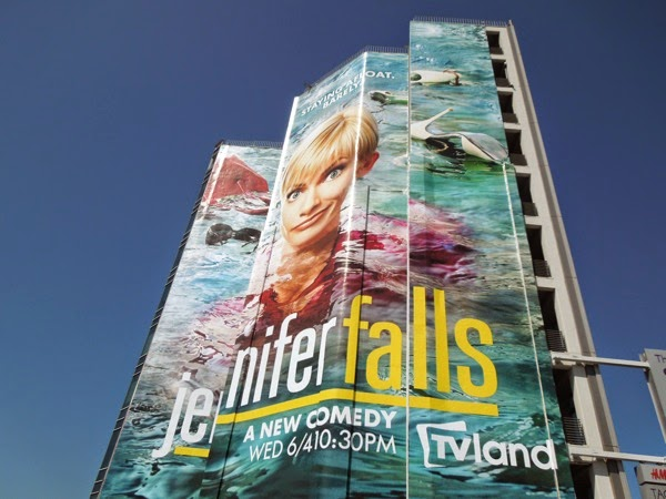 Giant Jennifer Falls series premiere TV Land billboard