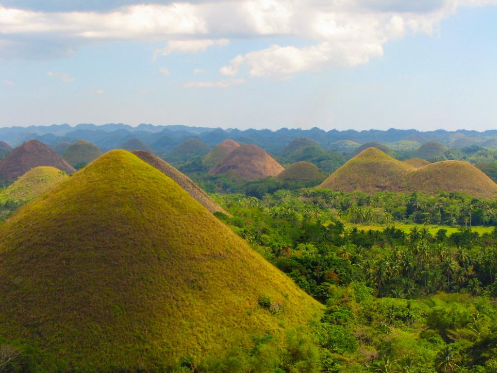 Chocolate Hills Philippines Amazing Views