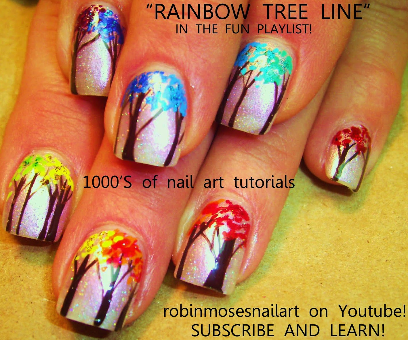 Nail Art Ideas shamrock nail art tutorial : Robin Moses Nail Art: