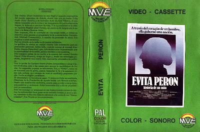 Evita peron Faye Dunaway