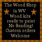 Stop by The Wood Shop!
