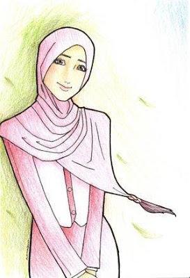 Cara Memakai Jilbab Tampak Modis