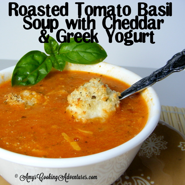 I've long wanted to make ahomemade tomato basil soup. But ...