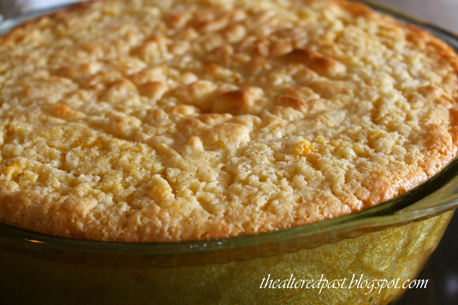 the best corn pudding recipe, the altered past