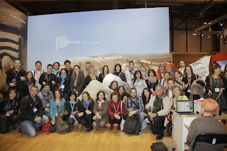 Grupo de bloggers, Fitur, Feria intenacional de turismo, Madrid, La vuelta al mundo de Asun y Ricardo, round the world, mundoporlibre.com