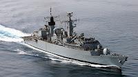 Type 22 class frigate