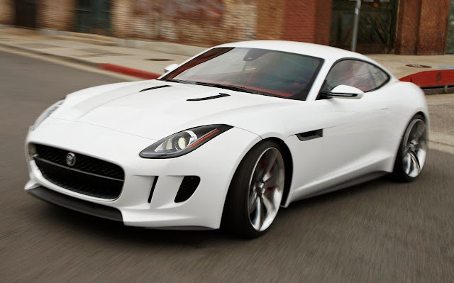 jaguar f-type coupe front