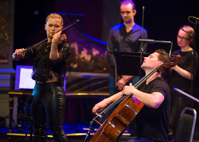 Håkon and Mari Samuelsen at the Bristol Proms - photo Jon Rowley