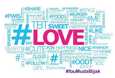 hashtag ibumudabijak